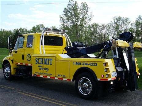 Twin cities offering cash for your old junker schmit towing for Allstate motor club towing